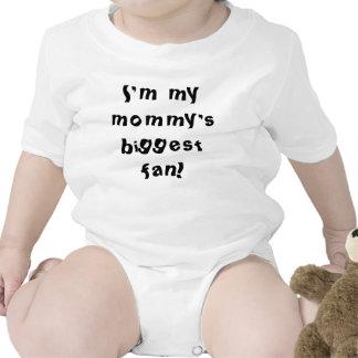 I m my mommy s biggest fan romper