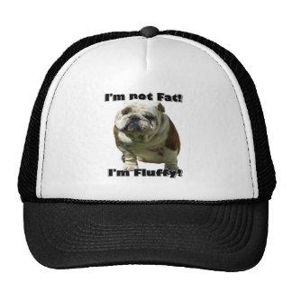 I m not fat Bulldog baseball hat