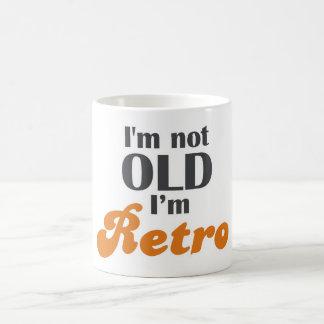 I m not old I m retro funny birthday 40th 50th Mug