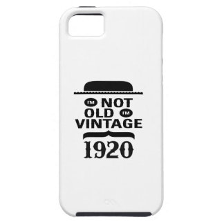 I m not old I m vintage 1920 iPhone 5/5S Cover