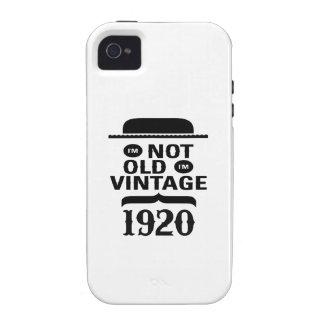I m not old I m vintage 1920 iPhone 4/4S Case