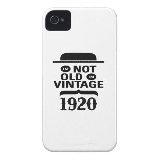 I m not old I m vintage 1920 iPhone 4 Covers