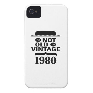 I m not old I m vintage 1980 iPhone 4 Cover
