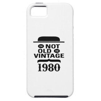 I m not old I m vintage 1980 iPhone 5/5S Case