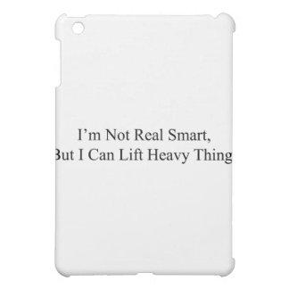 I m Not Real Smart iPad Mini Cover