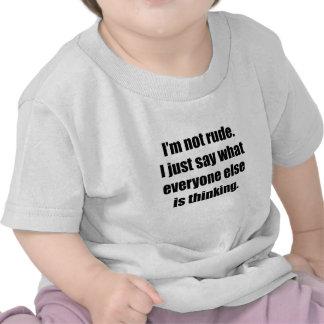 I m Not Rude T-shirt