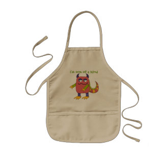 I m One of a Kind Monster Kids Aprons