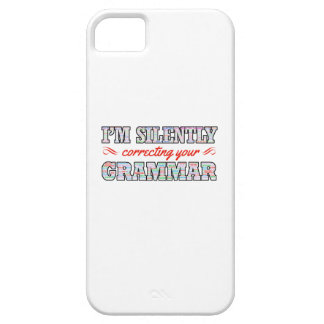 I'm silently correcting your Grammar Case For The iPhone 5