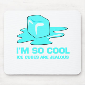 I m so cool icecube design mousepad