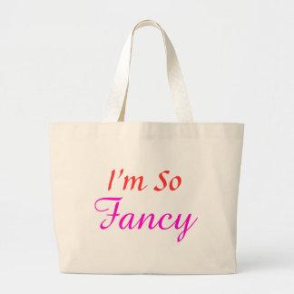 I m So Fancy Jumbo Tote Bags