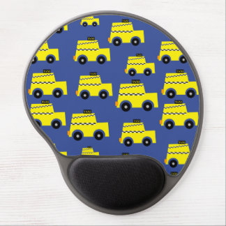 I'm taxi driver and I love it! Blue background Gel Mouse Pad