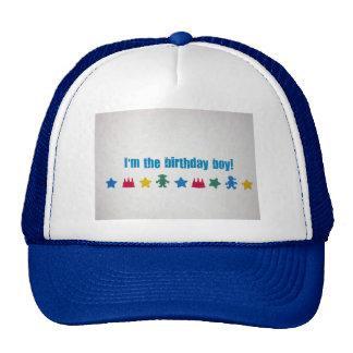 I m the Birthday Boy Mesh Hat