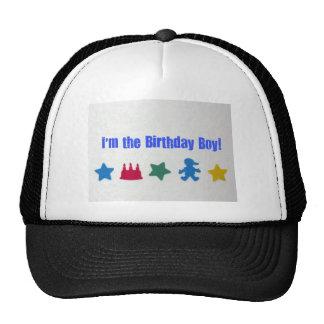 I m the Birthday Boy Mesh Hats