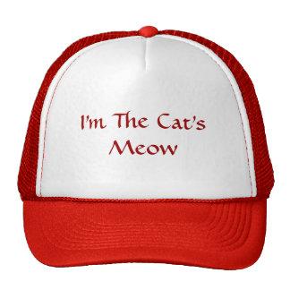 I m the Cat s Meow cap Mesh Hat