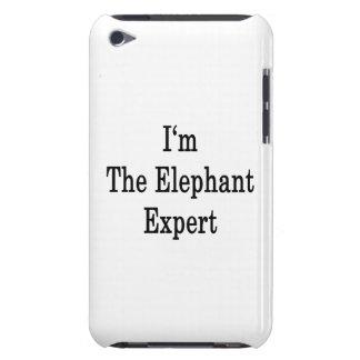I m The Elephant Expert iPod Case-Mate Case