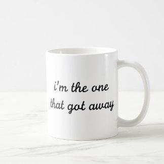 I m The One That Got Away Coffee Mug