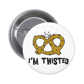 I m Twisted Pretzel Pin