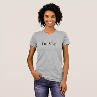 """I""""m Veg Premium T-Shirt Love Vegan Vegetarian"""