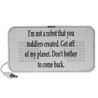 I m Your Robot Travel Speaker