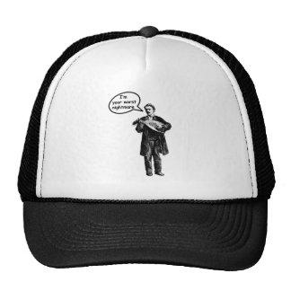 I m your worst nightmare Mandolin Hats