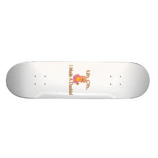 I Made A Dookie 21.6 Cm Skateboard Deck