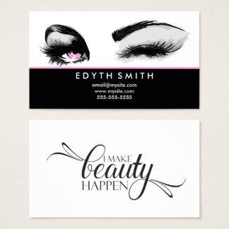 I Make Beauty Happen Business Card