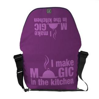 I Make Magic custom messenger bag