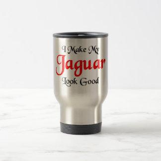 I make my Jaguar look good Travel Mug
