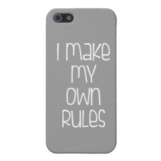 I Make My Own Rules iPhone Case iPhone 5/5S Cover