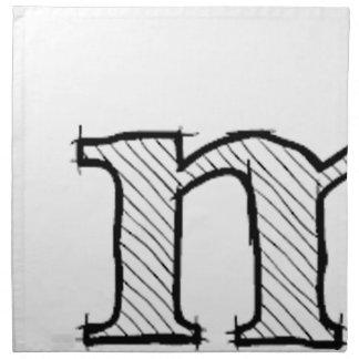 'i' : man (Karl Lentz) Napkin