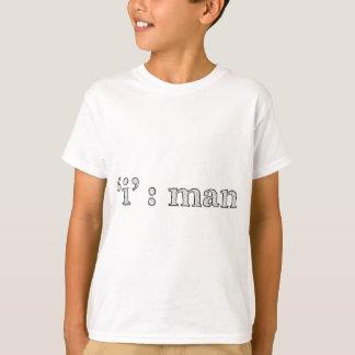 'i' : man (Karl Lentz) T-Shirt