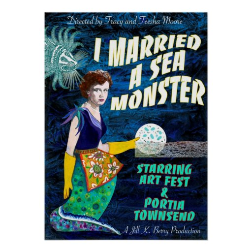 I Married A Sea Monster Poster