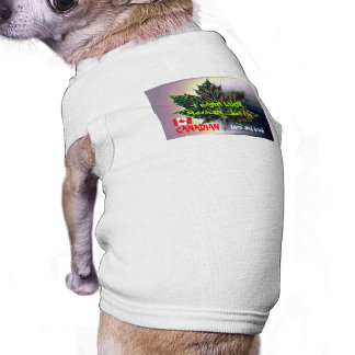 I may LOOK Mexican, but I'm Canadian born and bred Sleeveless Dog Shirt