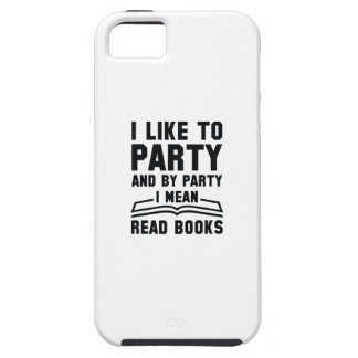 I Mean Read Books iPhone 5 Covers