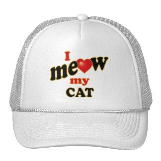 I Meow My Cat Cap