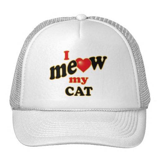 I Meow My Cat Hat