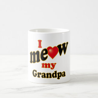 I Meow My Grandpa Coffee Mug