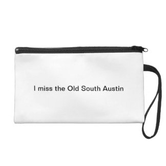 I miss the Old South Austin wristlet purse