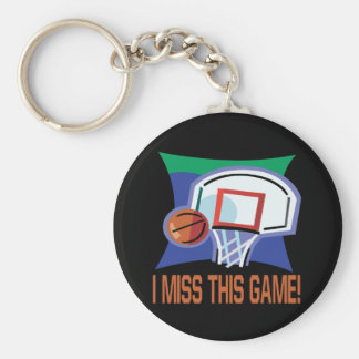 I Miss This Game Basic Round Button Key Ring