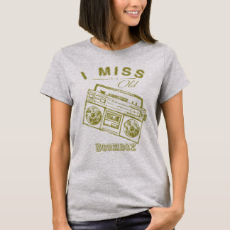 I miss this old boombox - retro style vintage T-Shirt