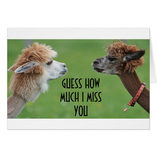 I MISS U ENOUGH TO SEND YOU A MILLION KISSES NOW! CARD