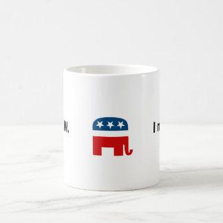 I miss W Classic White Coffee Mug
