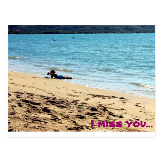 I miss you... post cards