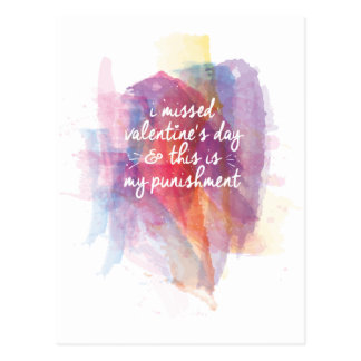 I missed valentine's day and this is my punishment post cards