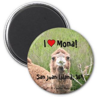 I ♥ Mona! Magnet