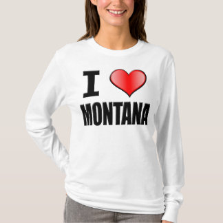 I ♥ Montana Long Sleeve - Women T-Shirt