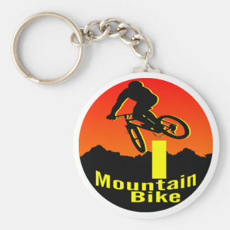 I Mountain Bike Key Ring