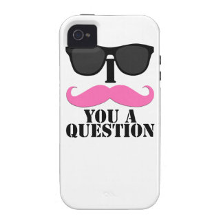 I Moustache You A Question for Women iPhone 4/4S Cover
