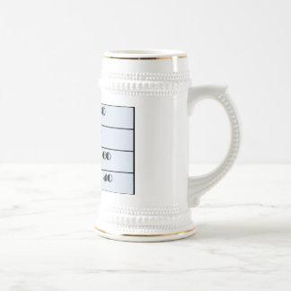I must be 40 mug,  40th birthday beer stein
