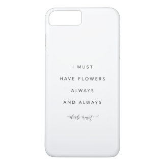 I must have flowers iPhone 7 cover